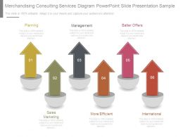 Merchandising Consulting Services Diagram Powerpoint Slide Presentation Sample
