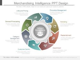 Merchandising Intelligence Ppt Design