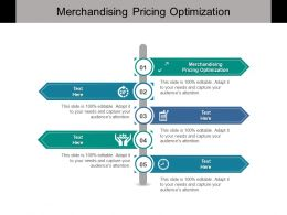 Merchandising Pricing Optimization Ppt Powerpoint Presentation Infographic Template Cpb
