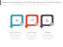 Merchandising Strategies On Client Basis Example Powerpoint Show
