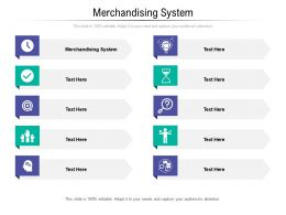 Merchandising System Ppt Powerpoint Presentation Infographic Template Topics Cpb