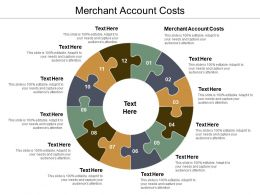 Merchant Account Costs Ppt Powerpoint Presentation Ideas Background Cpb