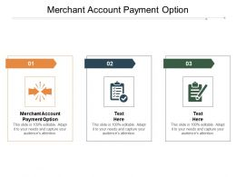 Merchant Account Payment Option Ppt Powerpoint Presentation File Example Introduction Cpb