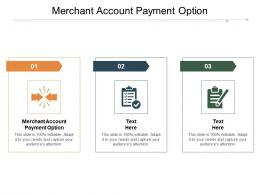 Merchant Account Payment Option Ppt Powerpoint Presentation Icon Sample Cpb
