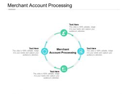 Merchant Account Processing Ppt Powerpoint Presentation Slides Example Cpb