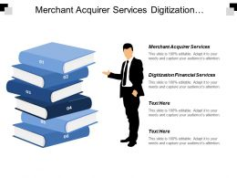 Merchant Acquirer Services Digitization Financial Services Ecommerce Report Cpb