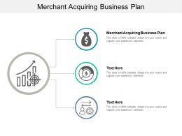 Merchant Acquiring Business Plan Ppt Powerpoint Presentation Infographics Outfit Cpb