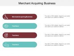 Merchant Acquiring Business Ppt Powerpoint Presentation Summary Information Cpb