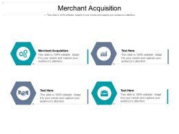 Merchant Acquisition Ppt Powerpoint Presentation Pictures Grid