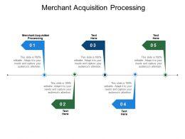 Merchant Acquisition Processing Ppt Powerpoint Presentation Portfolio Mockup Cpb