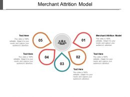 Merchant Attrition Model Ppt Powerpoint Presentation Show Layout Ideas Cpb