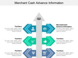 Merchant Cash Advance Information Ppt Powerpoint Presentation Pictures Vector Cpb