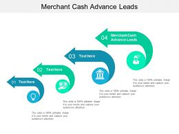 Merchant Cash Advance Leads Ppt Powerpoint Presentation Layouts Display Cpb