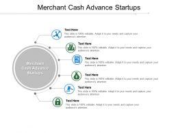 Merchant Cash Advance Startups Ppt Powerpoint Presentation Outline Show Cpb