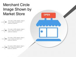 Merchant Circle Image Shown By Market Store