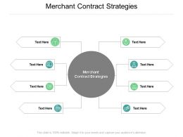 Merchant Contract Strategies Ppt Powerpoint Presentation Pictures Show Cpb