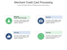 Merchant Credit Card Processing Ppt Powerpoint Presentation Infographics Summary Cpb
