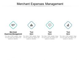 Merchant Expenses Management Ppt Powerpoint Presentation File Layout Cpb