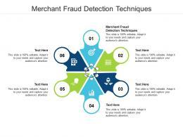 Merchant Fraud Detection Techniques Ppt Powerpoint Presentation Ideas Brochure Cpb