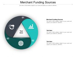 Merchant Funding Sources Ppt Powerpoint Presentation Ideas Slide Cpb