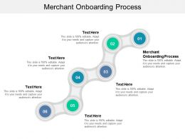 Merchant Onboarding Process Ppt Powerpoint Presentation File Master Slide Cpb