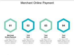 Merchant Online Payment Ppt Powerpoint Presentation Styles Background Cpb