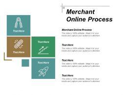 Merchant Online Process Ppt Powerpoint Presentation Infographics Slideshow Cpb