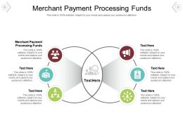 Merchant Payment Processing Funds Ppt Powerpoint Presentation Portfolio Example Cpb