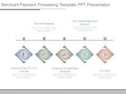 Merchant Payment Processing Template Ppt Presentation