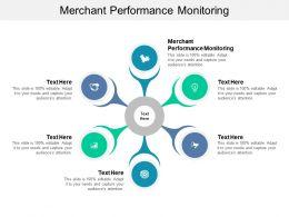 Merchant Performance Monitoring Ppt Powerpoint Presentation Show Slideshow Cpb