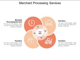 Merchant Processing Services Ppt Powerpoint Presentation Icon Visuals Cpb