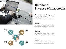 Merchant Success Management Ppt Powerpoint Presentation Model Example Cpb