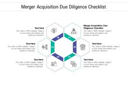 Merger Acquisition Due Diligence Checklist Ppt Powerpoint Presentation Styles Graphic Tips Cpb