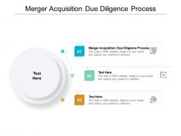Merger Acquisition Due Diligence Process Ppt Powerpoint Presentation Files Cpb