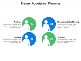 Merger Acquisition Planning Ppt Powerpoint Presentation Styles Design Templates Cpb