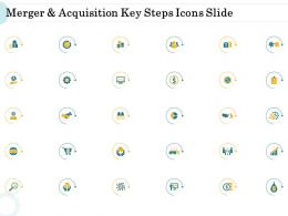 Merger And Acquisition Key Steps Merger And Acquisition Key Steps Icons Slide Ppt Microsoft