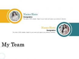 Merger And Acquisition Key Steps My Team Ppt Ideas Samples