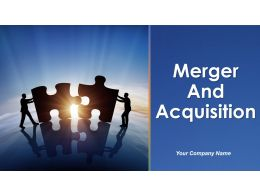 Merger And Acquisition Powerpoint Presentation Slides