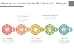 Merger And Acquisition Process Ppt Presentation Examples