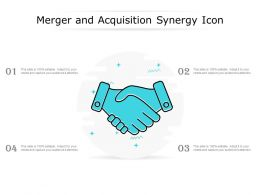 Merger And Acquisition Synergy Icon