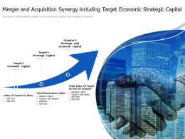 Merger And Acquisition Synergy Including Target Economic Strategic Capital