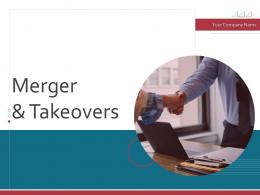 Merger And Takeovers Powerpoint Presentation Slides