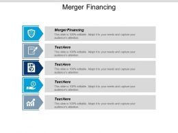 Merger Financing Ppt Powerpoint Presentation Layouts Structure Cpb