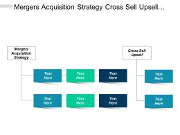 Mergers Acquisition Strategy Cross Sell Upsell Governance Model Cpb