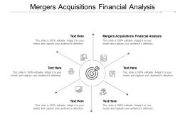 Mergers Acquisitions Financial Analysis Ppt Powerpoint Presentation Slides Diagrams Cpb