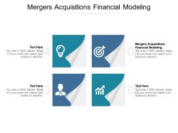 Mergers Acquisitions Financial Modeling Ppt Powerpoint Presentation Summary Clipart Cpb