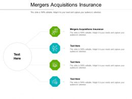 Mergers Acquisitions Insurance Ppt Powerpoint Presentation Infographic Template Mockup Cpb