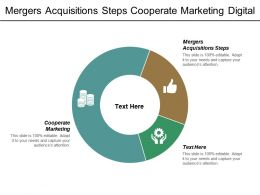 Mergers Acquisitions Steps Cooperate Marketing Digital Transformation Distribution Cpb