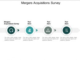 Mergers Acquisitions Survey Ppt Slides Clipart Cpb