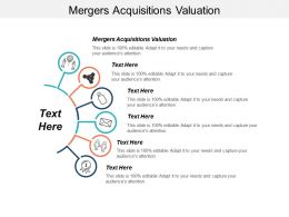Mergers Acquisitions Valuation Ppt Powerpoint Presentation Infographic Template Example Cpb